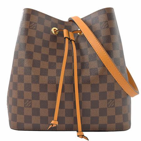 Louis Vuitton  棋盤格紋兩用水桶包