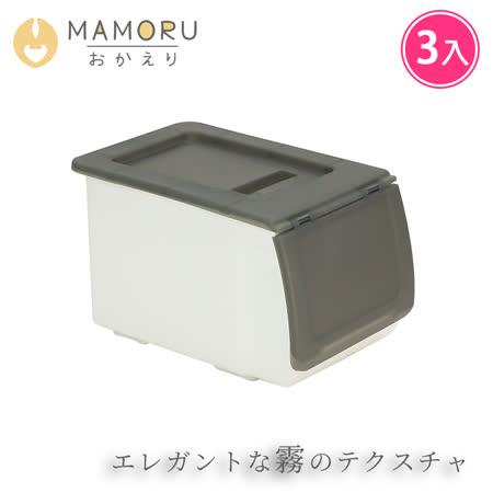 日式掀蓋 可堆疊收納箱