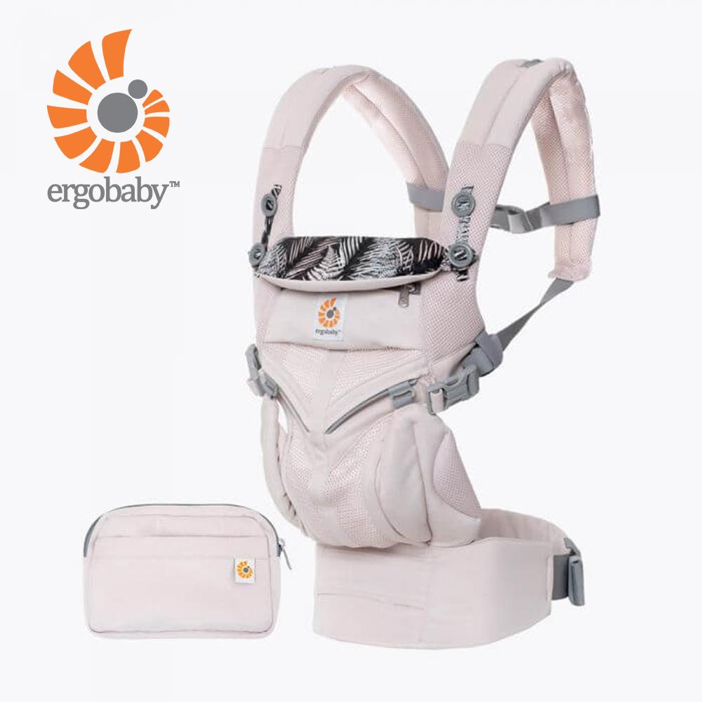 Ergobaby Omni全階段型四式360透氣款嬰兒揹巾/揹帶-粉色