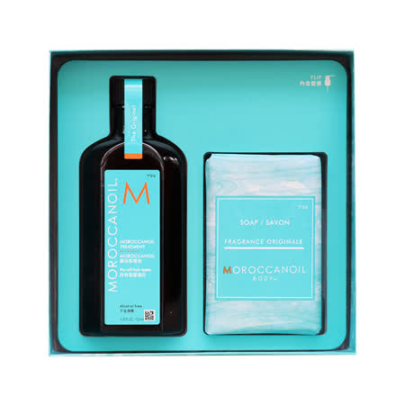 MOROCCANOIL  護髮油125ml+皂200g