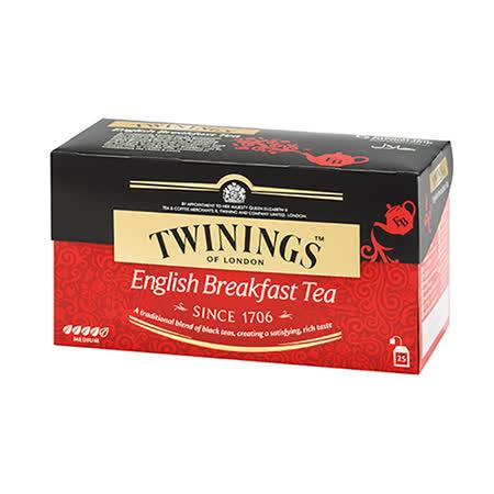 TWININGS 唐寧茶 英倫早餐茶25包