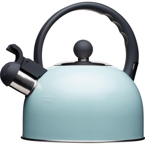《KitchenCraft》復古笛音壺(藍1.3L)
