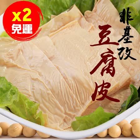 低醣聖品 非基改豆腐皮90克