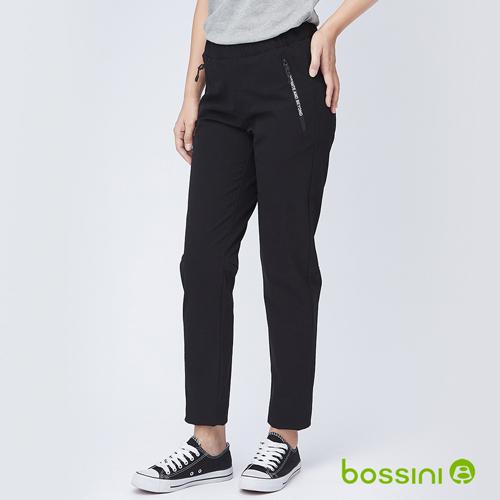 bossini女裝-彈性輕便保暖褲03黑