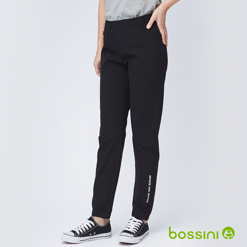 bossini女裝-彈性輕便保暖褲04黑