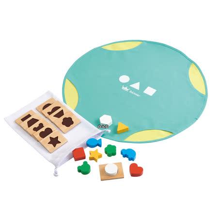 益智桌遊系列 幾何形狀配對遊戲
