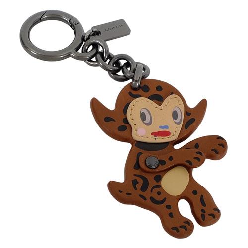 COACH BASEMAN童趣躡足小惡魔造型鑰匙圈