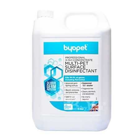 英國Byopet 3合1除臭清潔濃縮液5L