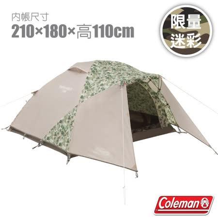 美國 Coleman  2-3人露營透氣寢室帳