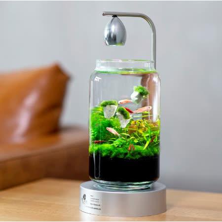 積木印象 活水草生態懶人魚缸