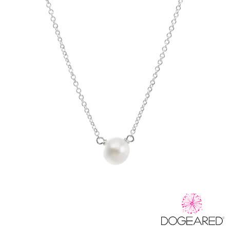 DOGEARED 喜悅之珠 手工珍珠純銀項鍊
