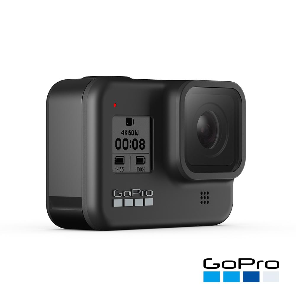 【GoPro】HERO8 Black全方位運動攝影機CHDHX-801-RW(忠欣公司貨)