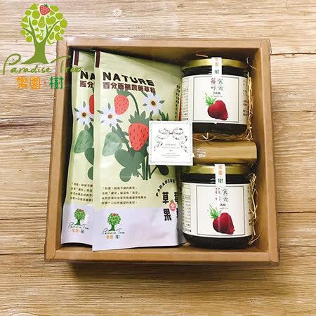 樂園.樹 無農藥 草莓果醬+果乾禮盒