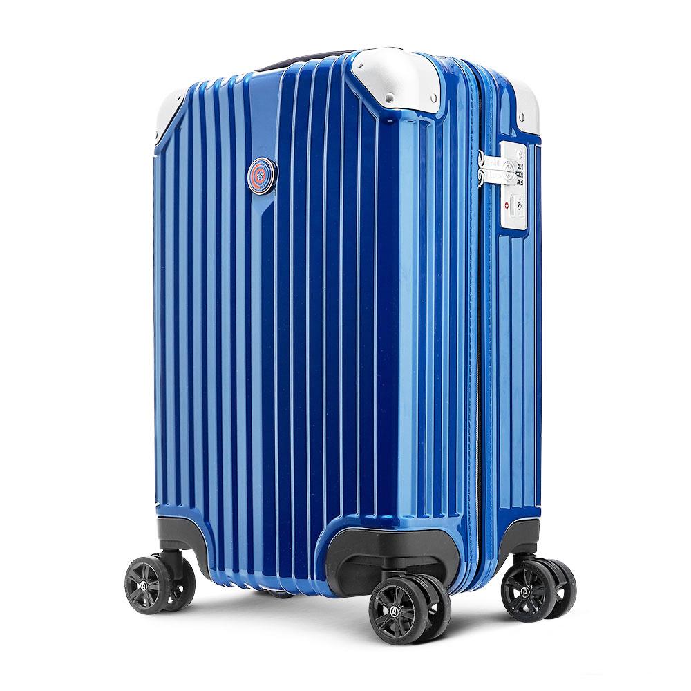 Deseno 漫威復仇者聯盟終局之戰限定版25吋拉鍊行李箱-美國隊長