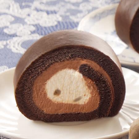 亞尼克 香蕉巧克力生乳捲