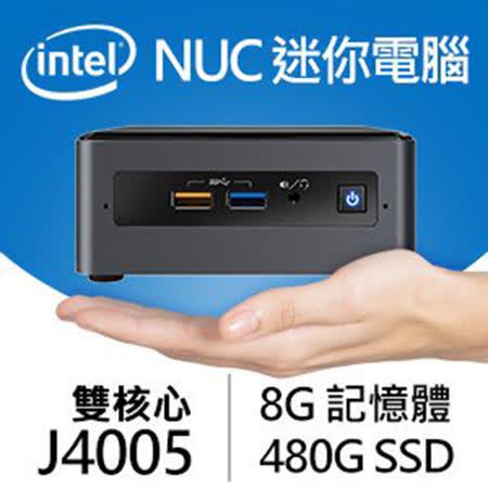Intel NUC迷你電腦 雙核/8G/480G SSD