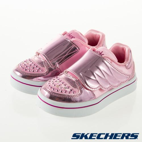 SKECHERS 女嬰童系列 TWI-LITES - 20120NPNK