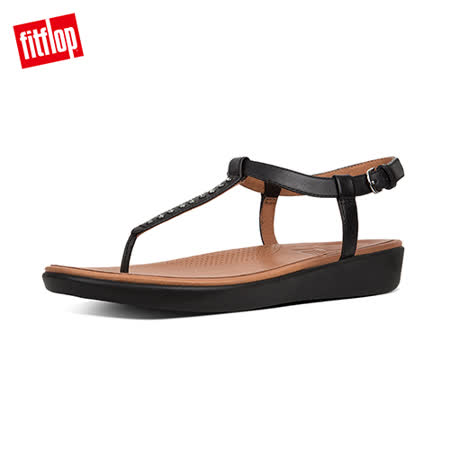 FitFlop 平面式水鑽夾腳涼鞋
