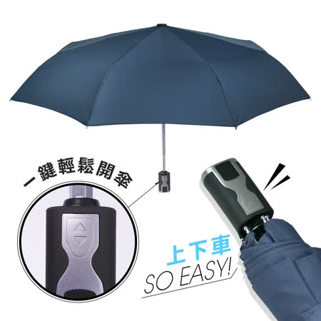2mm 第三代通勤加固 抗風自動開收傘