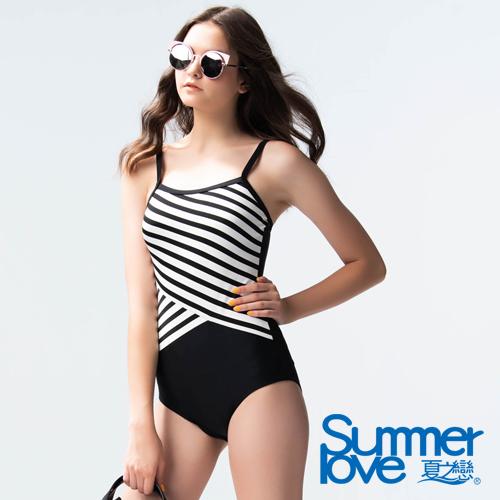 夏之戀SUMMERLOVE 大女連身三角泳衣E19701