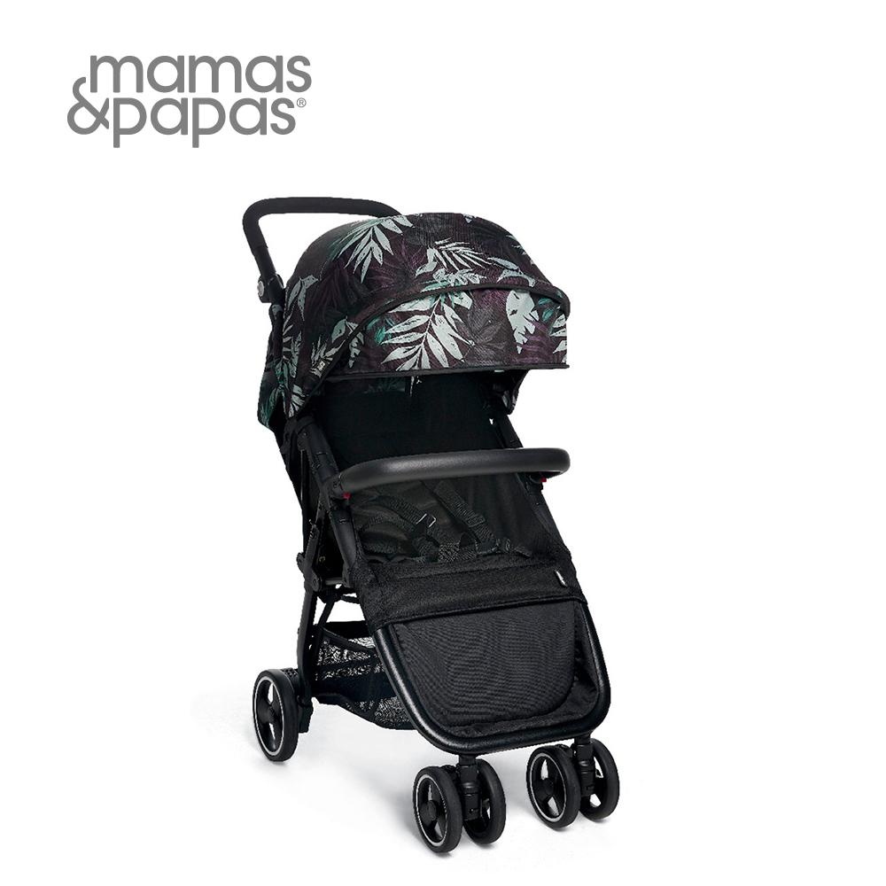 【Mamas & Papas】Acro 輕量秒收手推車-棕櫚黑