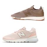 【NEW BALANCE】男女款 輕量慢跑休閒鞋 (WS515FS1、MRL247DT)