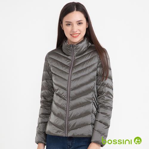 bossini女裝-炫彩極輕羽絨外套03灰