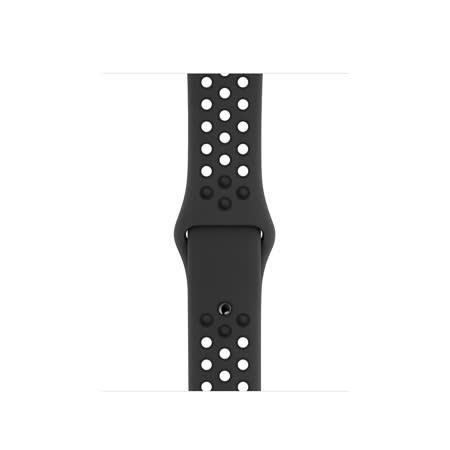 Apple Watch Nike Series 5 GPS 40公釐 太空灰色鋁金屬錶殼搭Anthracite配黑色Nike運動型錶帶