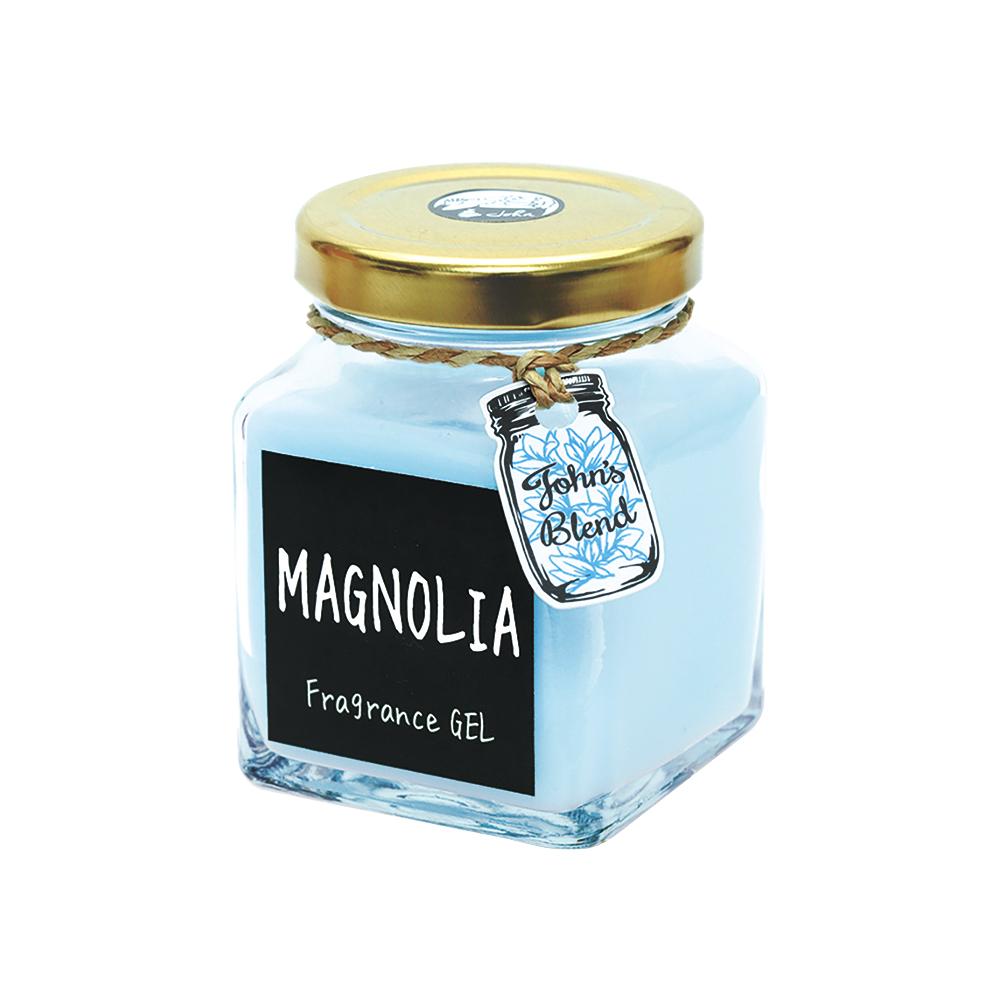 日本John′s Blend 室內香氛擴香膏(135g/瓶)(白玉蘭花MAGNOLIA)