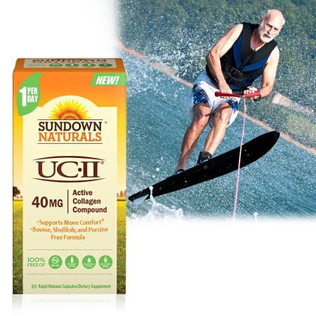 【美國Sundown】 勇健非變性二型膠囊