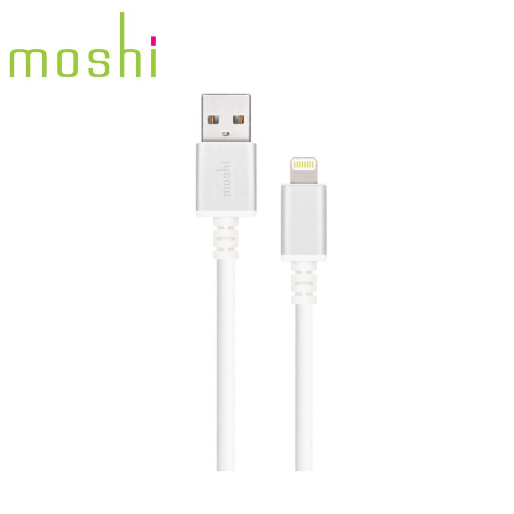 Moshi Lightning - USB傳輸線 白色(3m)