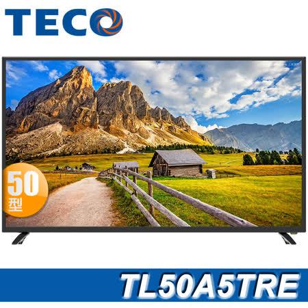 TECO 50吋 FHD低藍光液晶顯示器+視訊盒