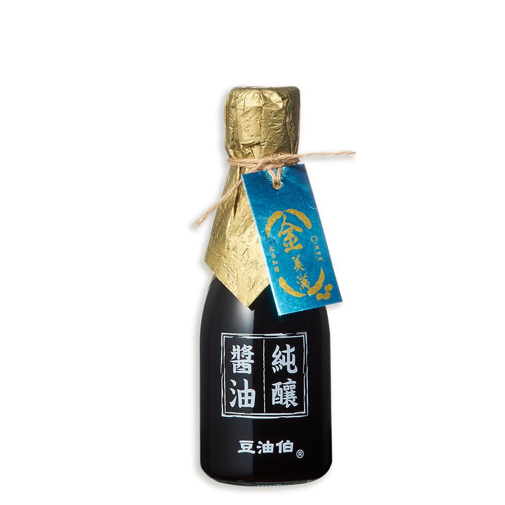 【豆油伯】金美滿醬油(無添加糖)180ml
