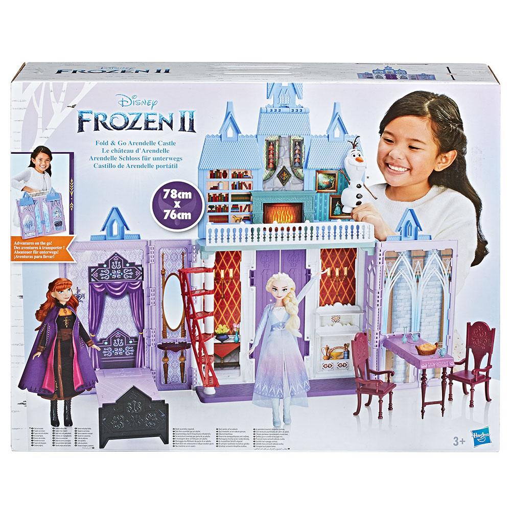 《 Disney 迪士尼 》Frozen 冰雪奇緣2 城堡遊戲組