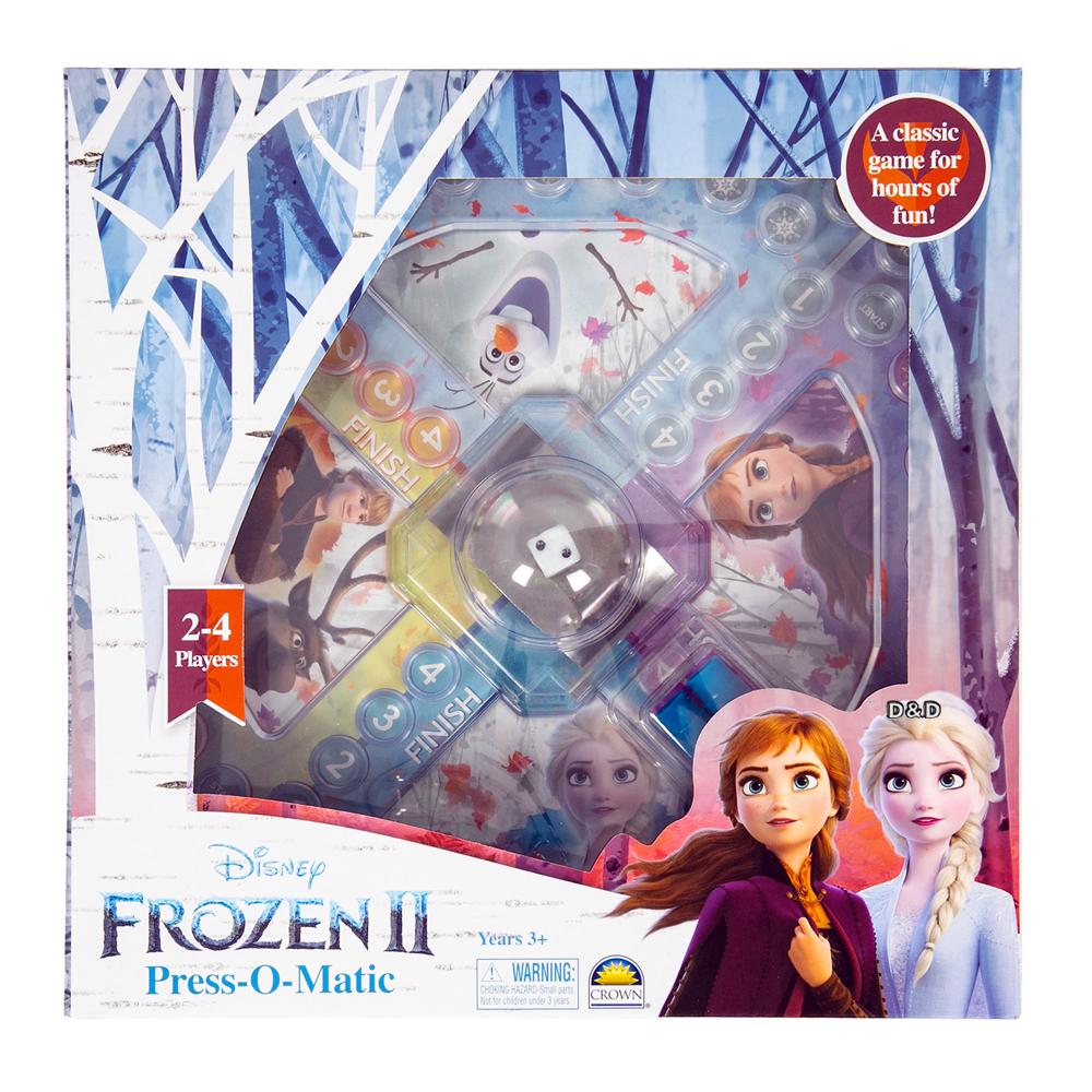 《 Disney 迪士尼 》Frozen 冰雪奇緣2 跳格子遊戲