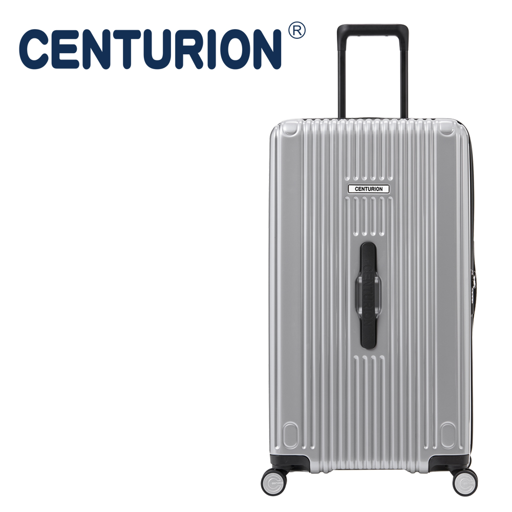 【CENTURION】百夫長克魯斯系列29吋行李箱─休士頓銀HOU(胖胖箱)