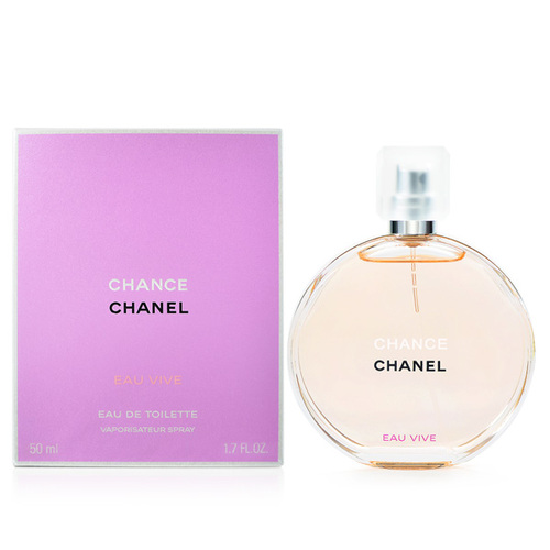 CHANEL 香奈兒 CHANCE 橙光輕舞 淡香水 50ml Chance EAU VIVE EDT