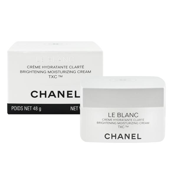 CHANEL 香奈兒 珍珠光感TXC美白保濕乳霜 48g LE BLANC Brightening Moisturizing Cream TXC