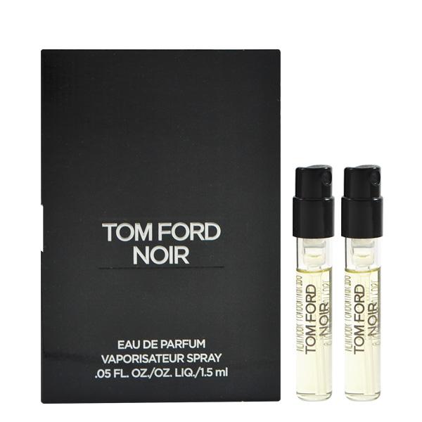Tom Ford 催情男士淡香精 1.5ml Noir EDP 針管小香 兩入組 (黑色)