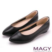MAGY│真皮親膚舒適平底鞋