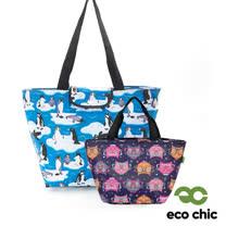 英國ECO CHIC<br>時尚折疊保冷袋任選2件組