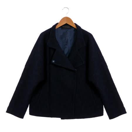 EPISODE 極簡風格造型外套(藍)