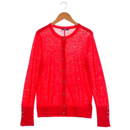 JESSICA 袖口鈕釦氣質造型開襟外套