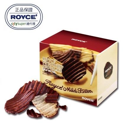 【ROYCE'】洋芋片巧克力 微苦巧克力