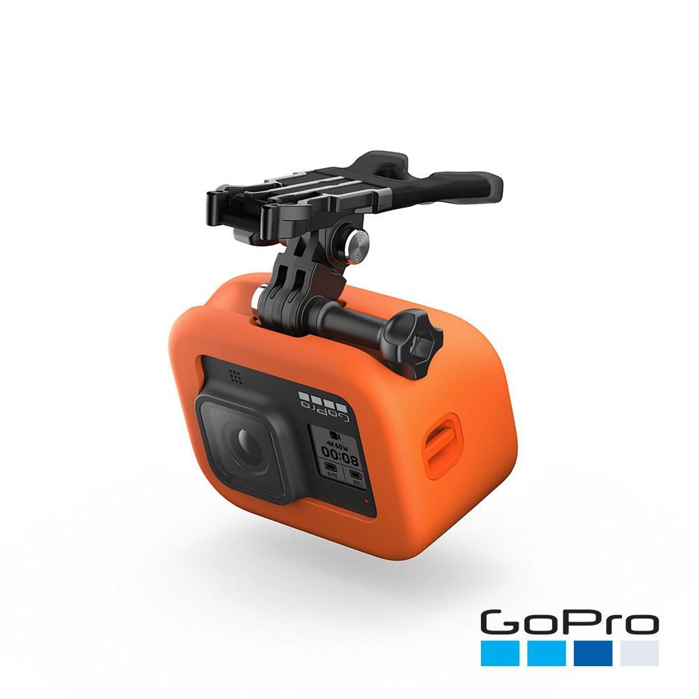【GoPro】HERO8 Black專用嘴咬式固定座+Floaty ASLBM-002(忠欣公司貨)