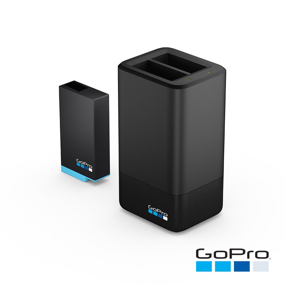 【GoPro】MAX專用雙電池充電器+電池ACDBD-001-AS(忠欣公司貨)