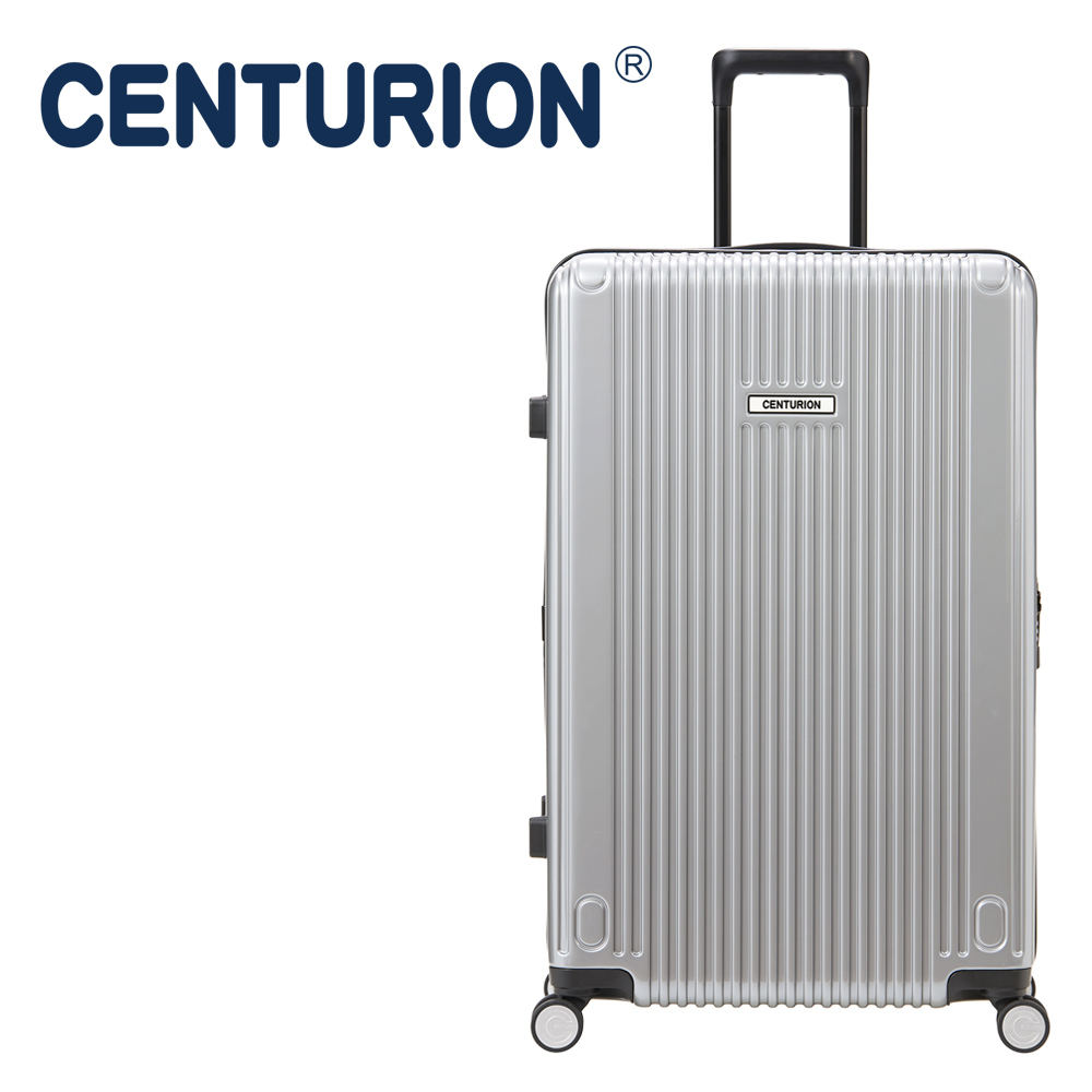 【CENTURION】百夫長29吋行李箱─休士頓銀HOU(拉鍊箱)