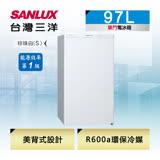 【台灣三洋SANLUX】97L單門電冰箱SR-C97A1