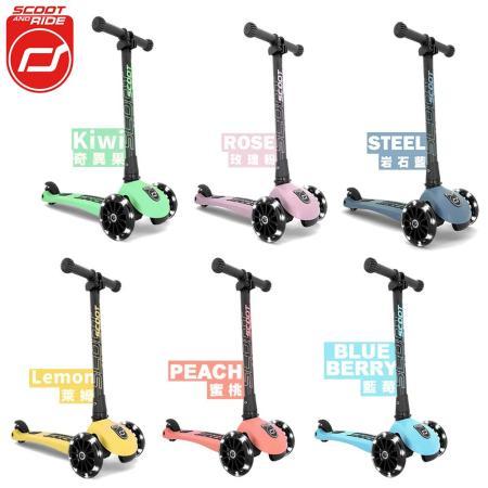 奧地利Scoot&Ride Kick3炫輪滑板車