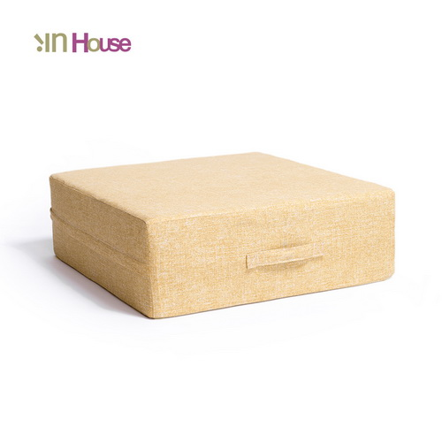 IN HOUSE-日式無壓力坐墊(方形/黃色)
